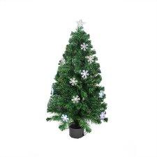 3' Color Changing Fiber Optic Christmas Tree