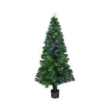 4' Color Changing Fiber Optic Christmas Tree