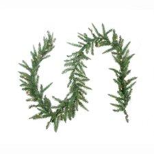 Pre-lit Mixed Pine Artificial Christmas Garland
