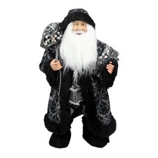 Standing Santa Claus with Gifts Christmas Figure