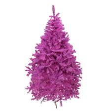 6.5' Orchid Pink Cedar Pine Artificial Christmas Tree
