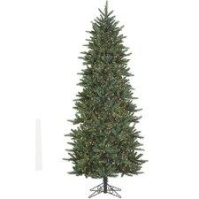 7.5' Carolina Frasier Freshly Cut Artificial Christmas Tree with Multi Light