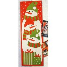 Snowman Christmas Card Wall Holder (Set of 108)