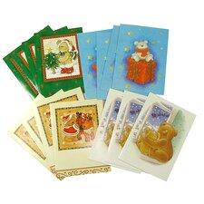 Teddy Bear Christmas Holiday Card