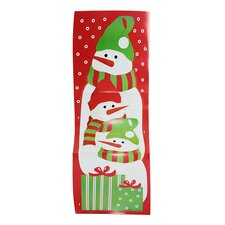 Snowman Christmas Card Wall Holder