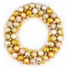 "24"" Shatterproof Christmas Ball Ornament Wreath"