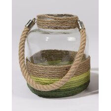Tropicalia Glass Candle Holder