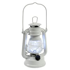 Beach Day Cottage Style Battery Operated Table Top Lantern