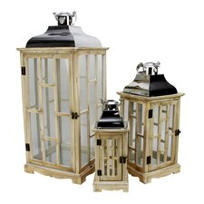 Country Wood Lantern