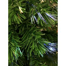 2' Bonsai-Style Artificial Pine Christmas Tree with Multi Light