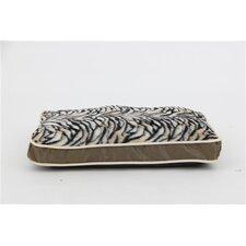 Luxurious Zebra Faux Fur Plush Waterproof Oxford Sleeper Pet Pillow