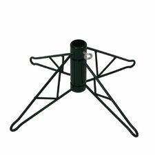 Green Metal Christmas Tree Stand for 15' Artificial Trees