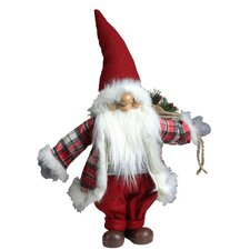 """Merry Matthew"" Gnome Christmas Tabletop Decoration"