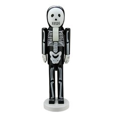 Skeleton Decorative Wooden Halloween Nutcracker