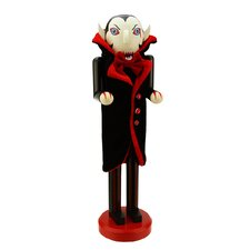Dracula Vampire Decorative Wooden Halloween Nutcracker
