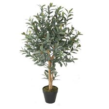 Decorative Artificial Olive Tree in Pot