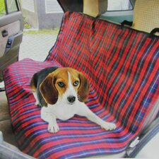 Rugged Canvas Pet Car Seat Protective Cover
