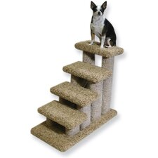 Deluxe Doggie 4 Step Pet Stair