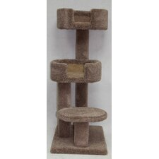 "48"" Kitty Cuddle Tower Cat Tree"