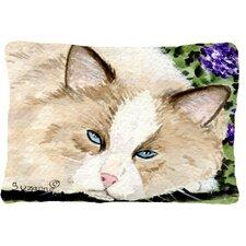 Cat Indoor/Outdoor Throw Pillow