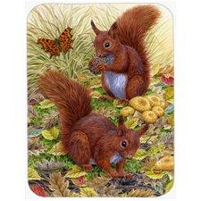 Squirrels Glass Cutting Board