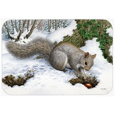 Squirrel Glass Cutting Board