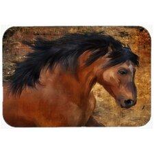 Wild Horse Glass Cutting Board