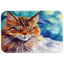 Cat Watching You Kitchen/Bath Mat