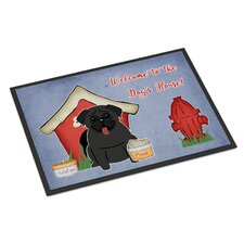 Dog House Pug Doormat