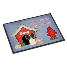 Dog House Papillon Doormat