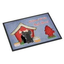 Dog House Chinese Crested Doormat