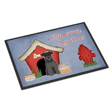 Dog House Miniature Schnauzer Doormat