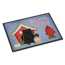 Dog House Chow Chow Doormat