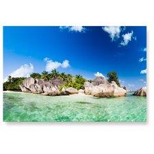 Wandbild Island, Fotodruck