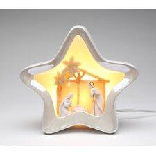 Star Shape Nativity Night Light