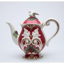 Fantasia Christmas Earthenware Teapot