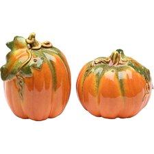 Pumpkin Salt and Pepper Set