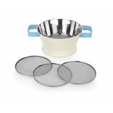 Originals Triple Sifter with 3 Sifting Grades and Handles
