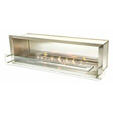 Single Sided Bio-Ethanol Tabletop Fireplace