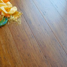 "4-3/4"" Engineered Bamboo Hardwood Flooring in Weathered Wood"