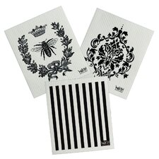3 Piece Cleaning Cloth Set