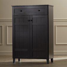 Marjorie Modern 15-Pair Shoe Storage Cabinet