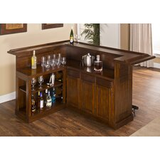 Dillard Bar with Wine Storage