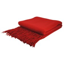 Collins Cashmere / Wool Throw Blanket