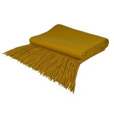 Collins Cashmere / Wool Throw Blanket