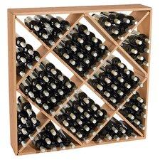 Lymsey 120 Bottle Floor Wine Rack