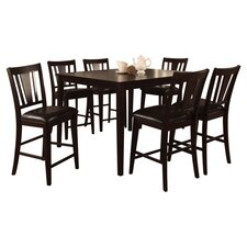 Rushford Leal 7 Piece Counter Height Dining Set