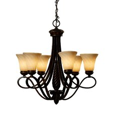 Hoopeston 6 Light Chandelier