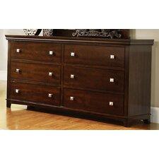 Elyot 6 Drawer Dresser