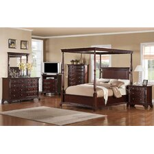 Orland Canopy Customizable Bedroom Set
